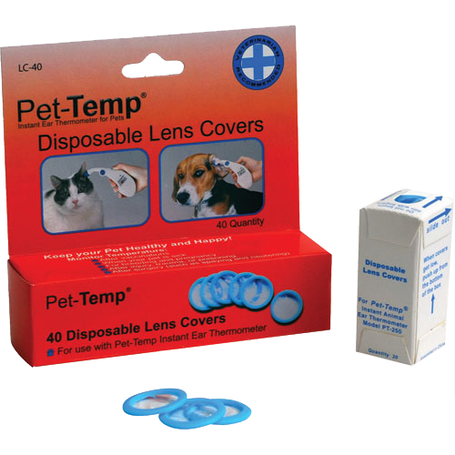Pet-Temp LC-40 disposable lens covers
