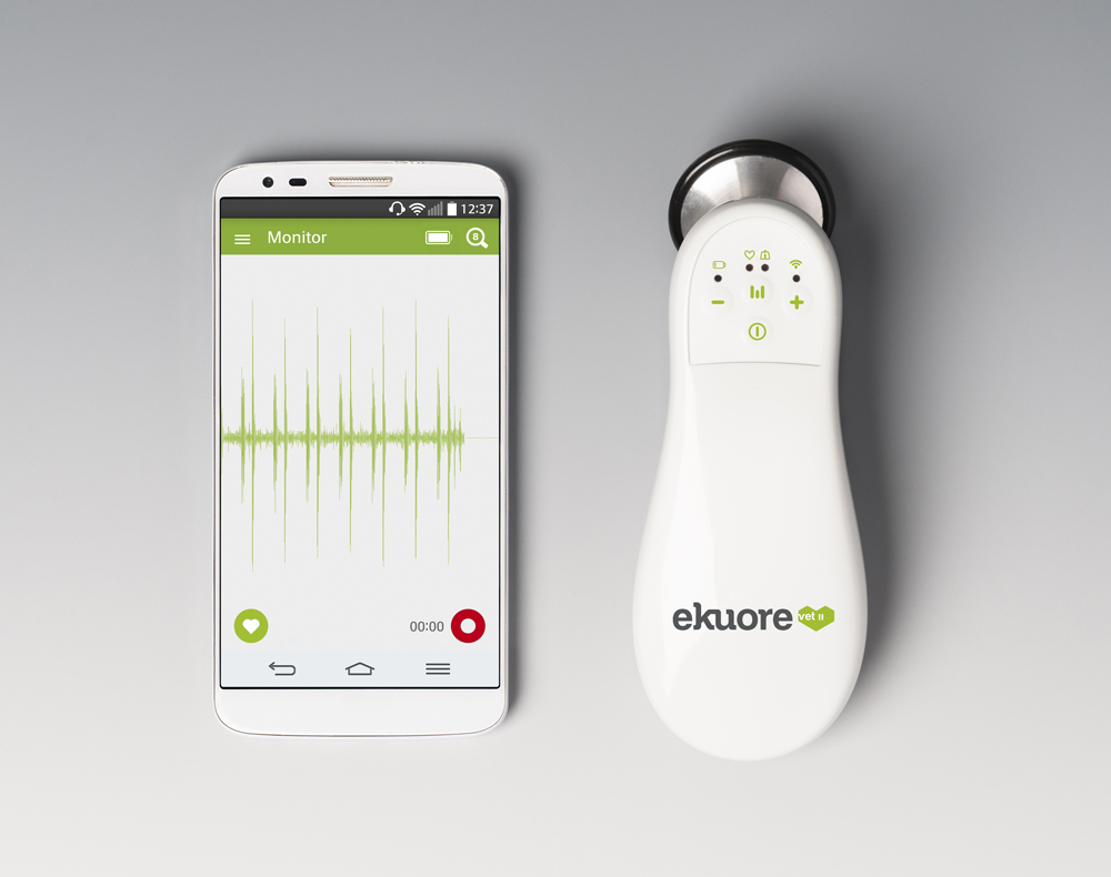Ekuore digital stethoscope