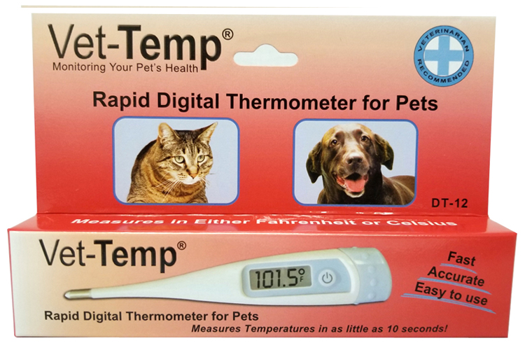 DT-12, rigid rectal thermometer